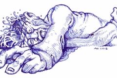 Dread: Erschlagener in Blutlache