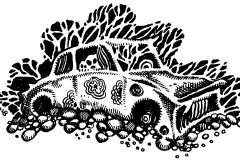 Ein ruhiges Jahr: Autowrack